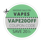 massive 20% OFF our entire collection of cannabis vape